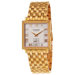 Charmex Women's Gold-tone Stainless Steel Watch