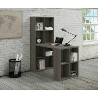Noir MDF Computer Desk with Storage