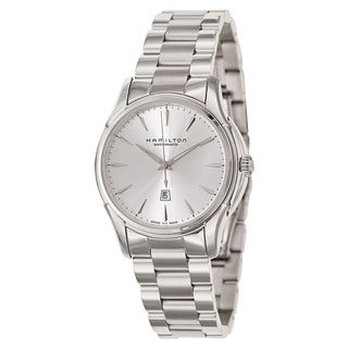 Hamilton Silvertone Stainless Steel Women's Automatic Watch