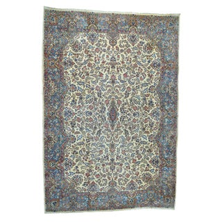 1800GetaRug Persian Kerman Palaca Multicolor Wool Antique-style Oriental Rug (13'10 x 20'10)