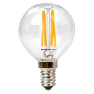 Goodlite LED G16 Clear Acrylic Dimmable Incandescent 60-watt LED Bulbs (Pack of 10)