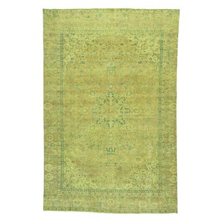 1800GetaRug Hand-knotted Overdyed Persian Esfahan Oriental Wool Rug (8'4 x 12'10)