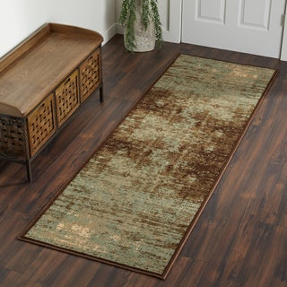 Superior Modern Afton Acid Wash Area Rug Collection (2'7 x 8')