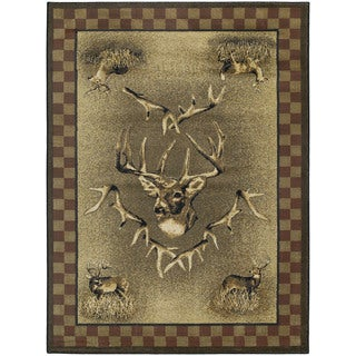 Ridgeland Hunter's Prize Accent Rug (3'11 x 5'3)