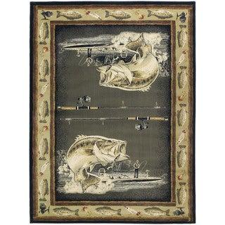 Ridgeland Fisherman's Catch Runner Rug (1'11 x 7'4)