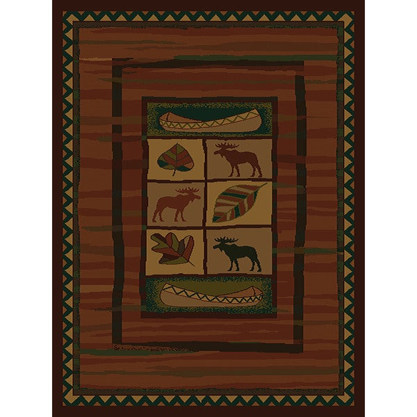 Shop Westfield Home Ridgeland Moose Lodge Polypropylene