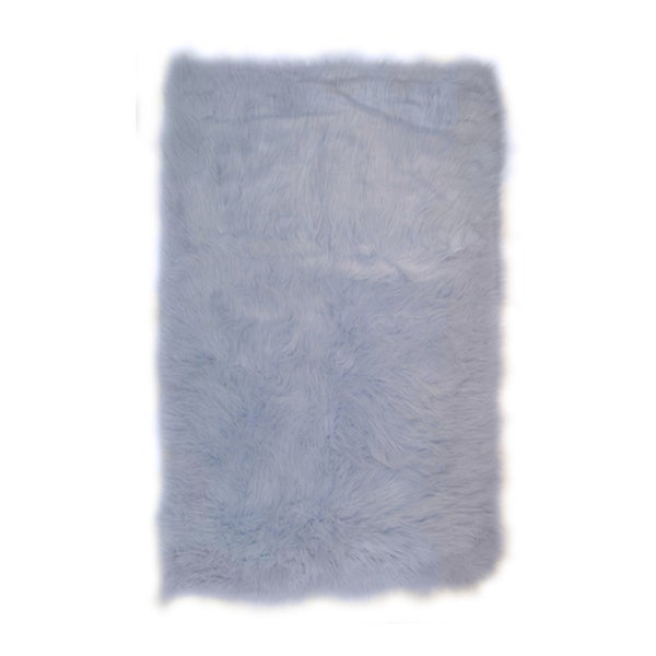 Fun Rugs Home Indoor/ Outdoor Light Blue Color Rug (2'7 x 3'11 )