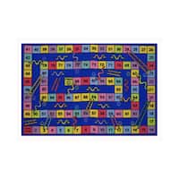 Fun Rugs Home Indoor Decorative Snakes and Ladders Rug