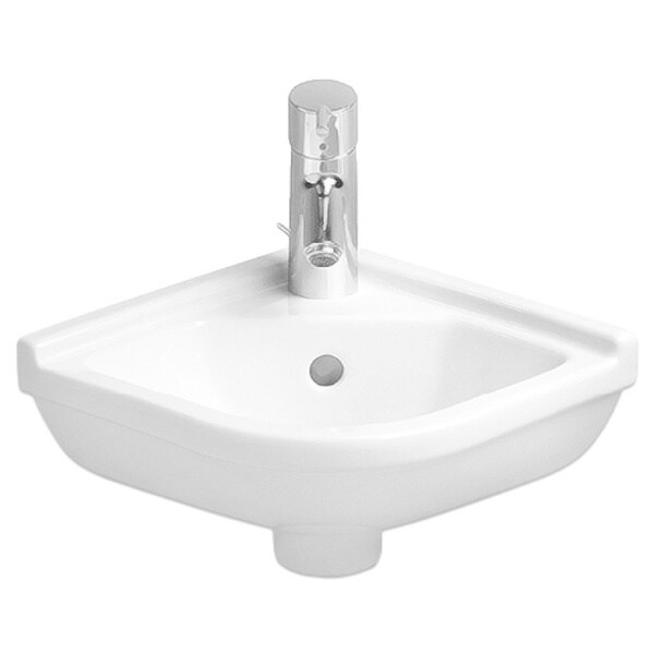 Duravit Handrinse White Porcelain Corner Basin 0752440000
