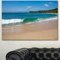 Designart 'Discontinued product' Modern Seashore Canvas Art
