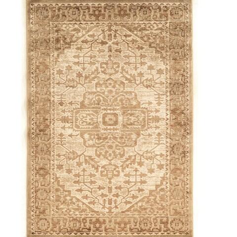 Linon Platinum Collection Heriz Persian Modified Polyester Area Rug