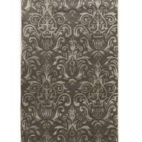 Hand Tufted Aspire Clara Grey Wool Rug (2' x 3')