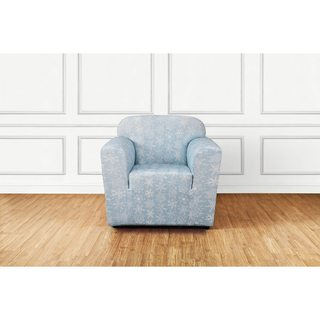 Sure Fit Stretch Snowflake 1 Piece Chair Slipcover