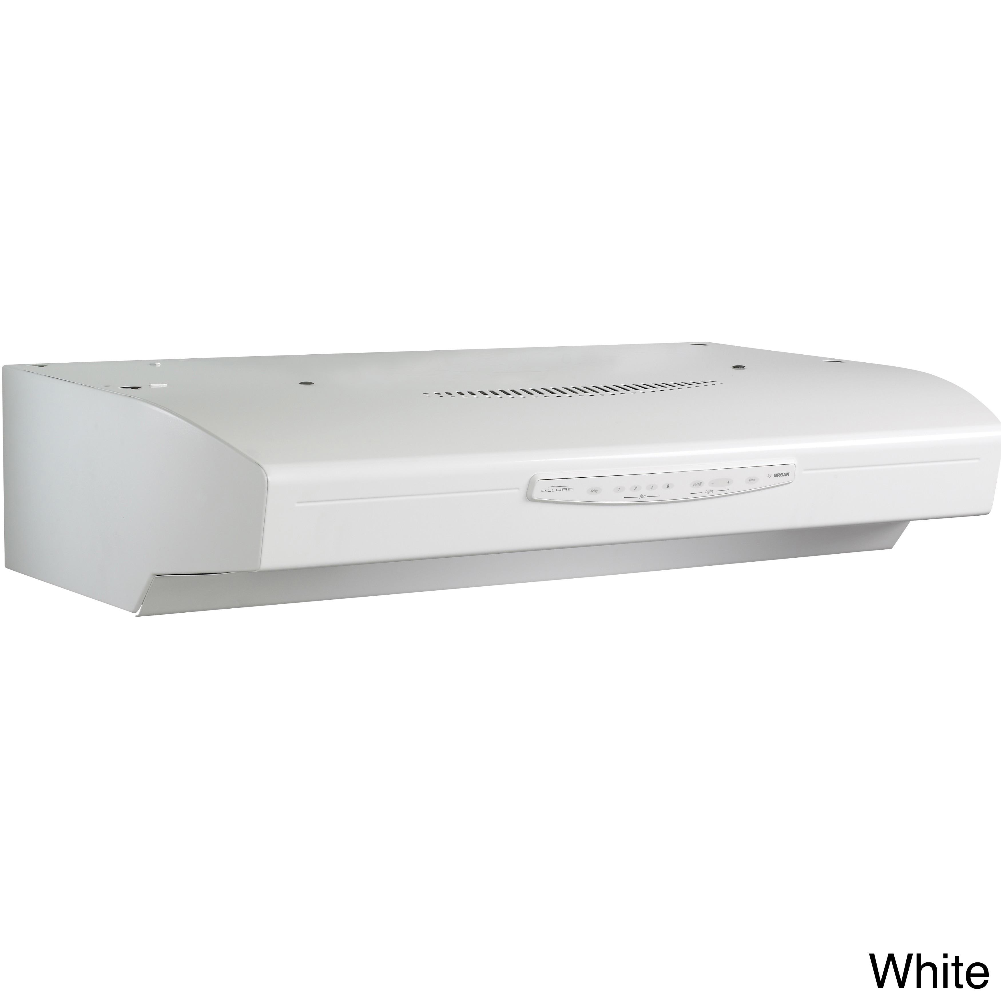 Broan QS330 Allure Series White 30-inch Under Cabinet 430...