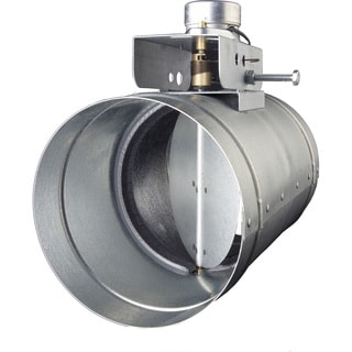 Automatic 8-inch Make-Up Air Damper