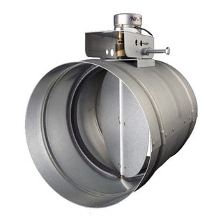 Broan Universal MD8TU Automatic Make-Up Air Damper with Pressure Sensor Kit