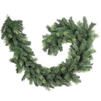 Christmas Pine Two-tone Green 9-foot 300-tip Garland