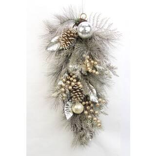 Metallic 28-inch Pine Cone Ornament|https://ak1.ostkcdn.com/images/products/13178052/P19901124.jpg?impolicy=medium