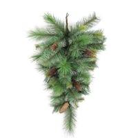 Artifcial Christmas Pine 36-inch Teardrop Swag