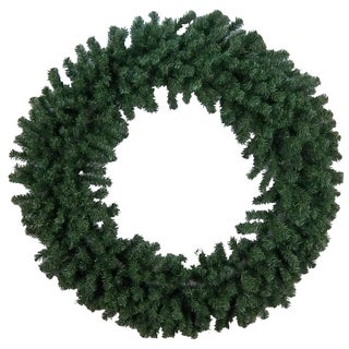 Canadian Christmas Pine 48-inch Wreath with 480 Tips