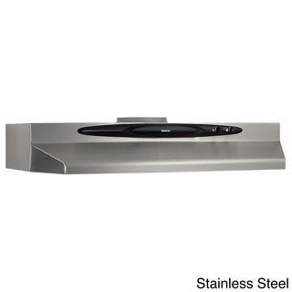 Broan QT236 Series 36-inch Stainless Steel Under Cabinet 200 CFM Range Hood