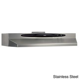 Broan QT236 Series 36-inch Stainless Steel Under Cabinet 200 CFM Range Hood