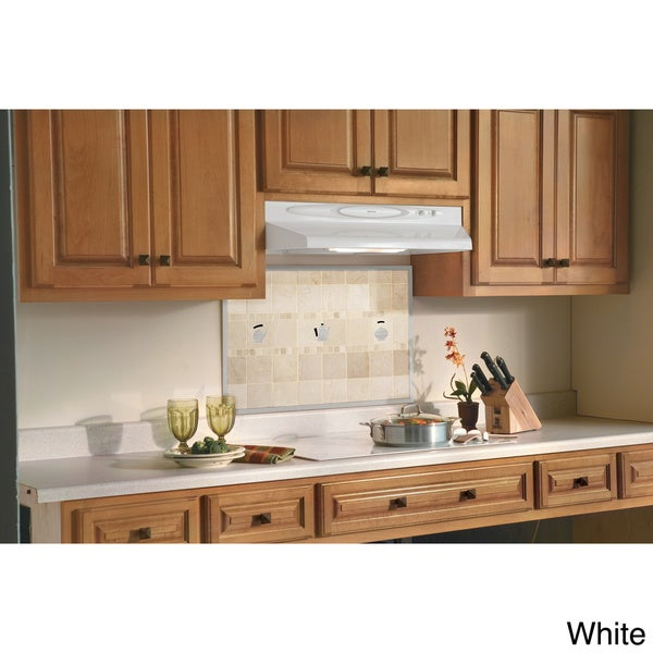 Shop Broan Qt230 Series 30 Inch White Under Cabinet 200