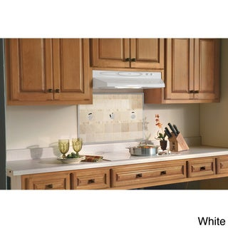 Broan QT230 Series 30-inch White Under Cabinet 200 CFM Range Hood