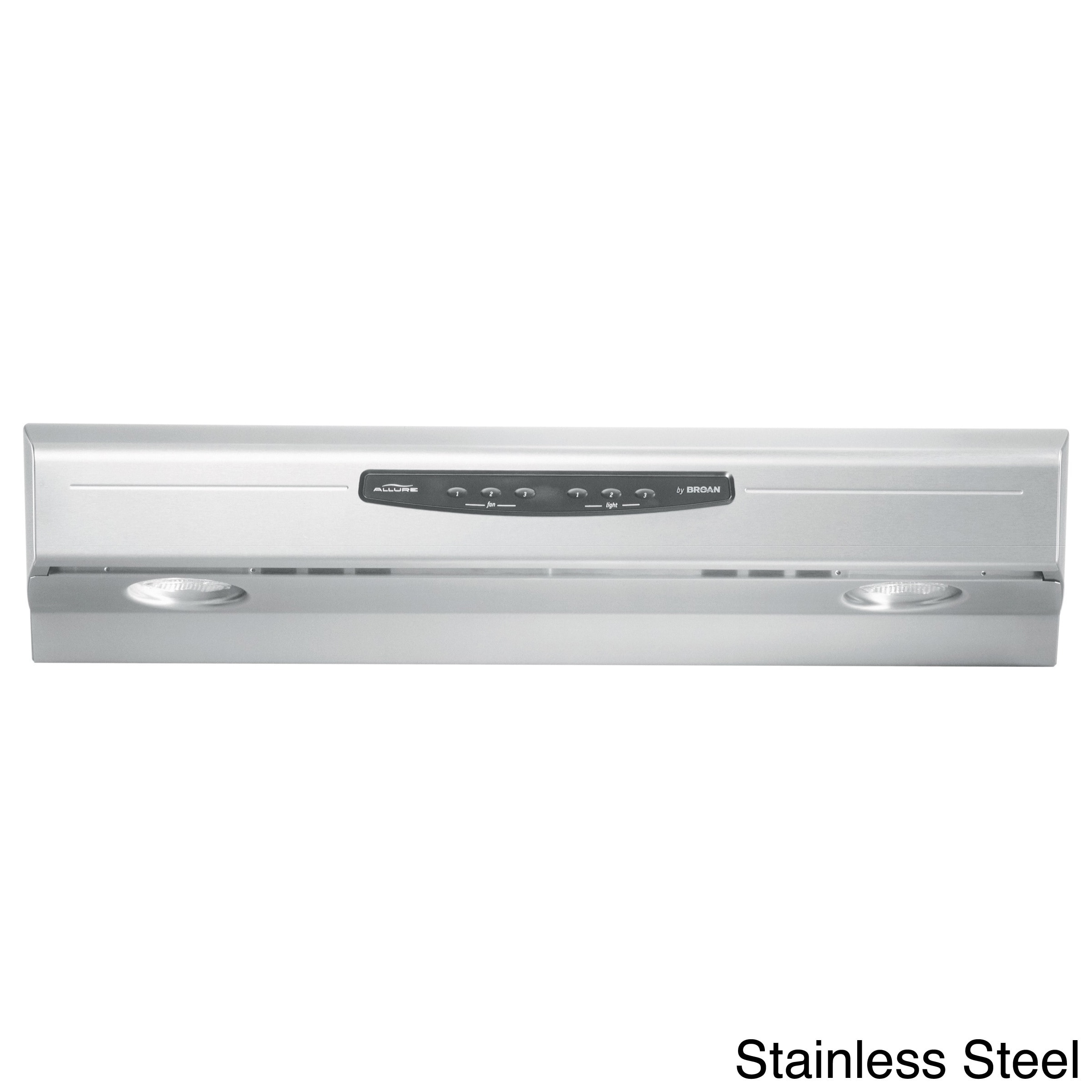 Broan QS236 Allure Series Stainless Steel (Silver) 36-inc...