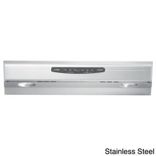 Broan QS230 Allure Series Stainless Steel 30-inch Under Cabinet 300 CFM Range Hood