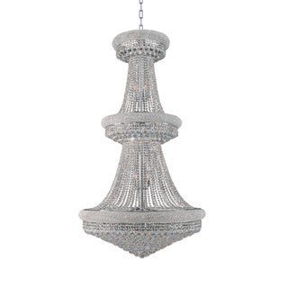 Primo Collection 1800-4272 Goldtone finish/Chrome Finish Steel/Crystal Chandelier