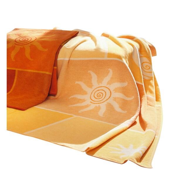 """Deluxe Comfort Biederlack Collection Sunburst Throw Blanket, 60"""" x 50"""" - Throw Blanket"""