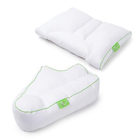 Sleep Yoga Side Sleeper 2 piece Combo - White