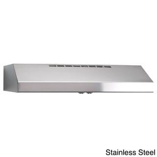 Broan QS130 Allure Series Stainless Steel 30-inch 220 CFM Under Cabinet Hood