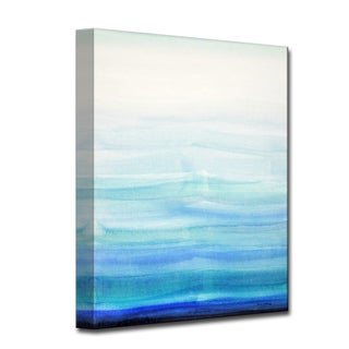 Soothing Calm' by Norman Wyatt, Jr Abstract Wrapped Canvas Wall Art