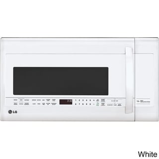 LG 2.2 cu. ft. White Over-the-Range Microwave Oven