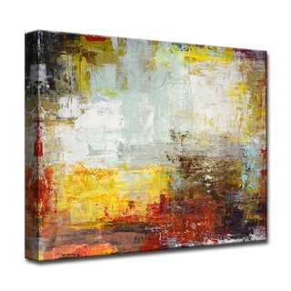 Can't Wait' by Norman Wyatt, Jr Wrapped Canvas Wall Art