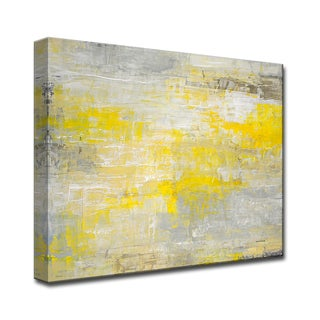 Repose' by Norman Wyatt, Jr Abstract Wrapped Canvas Wall Art