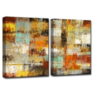 Ready2HangArt 'Revelation' by Norman Wyatt, Jr 2 Piece Canvas Art Set