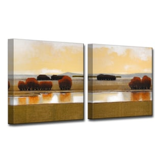Ready2HangArt 'Still Water' by Norman Wyatt, Jr 2 Piece Canvas Art Set