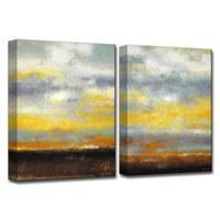 Ready2HangArt 'Painted Sunset I/II' by Norman Wyatt, Jr Canvas Art Set