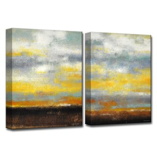 Ready2HangArt 'Painted Sunset I/II' by Norman Wyatt, Jr Canvas Art Set