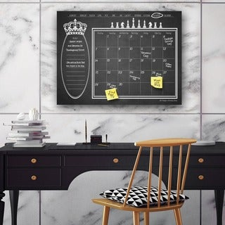 Ready2HangArt Regal Dry Erase Monthly Calendar on ArtPlexi (3 options available)