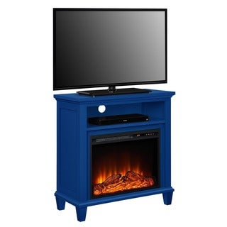 Altra Ellington Electric Fireplace Accent Table 32-inch TV Stand