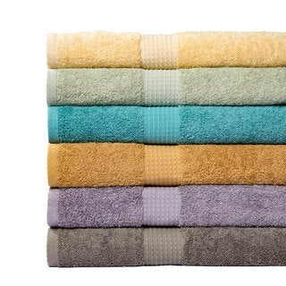 Supersoft 6-piece 100-percent Cotton Bath Towel Set
