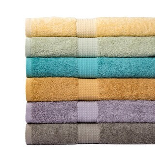 Supersoft 100-percent Cotton 6-Piece Towel Set