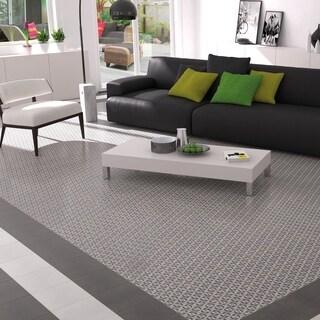 SomerTile 9.5x9.5-inch Vendimia Kubic Porcelain Floor and Wall Tile (16/Case, 10.56 sqft.)