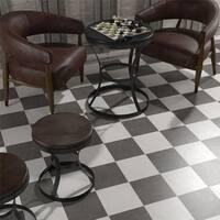 SomerTile 9.75x9.75-inch Vendimia Blanco Porcelain Floor and Wall Tile (16 tiles/10.76 sqft.)