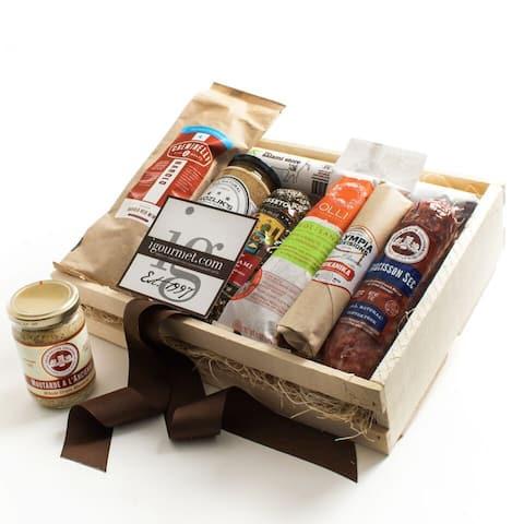 igourmet The Ultimate Salami Gift Crate