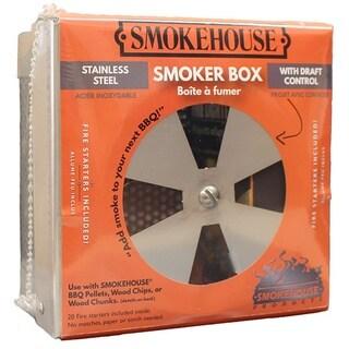 Smokehouse Smoker Box with Draft Control